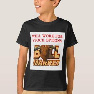 T-shirt Plaisanterie de cramer de marché boursier