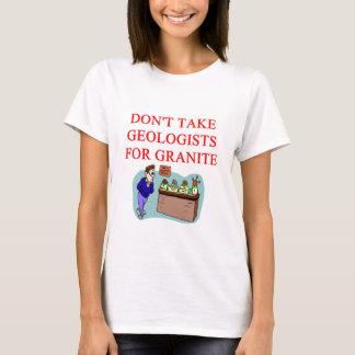 T-shirt plaisanterie de géologue
