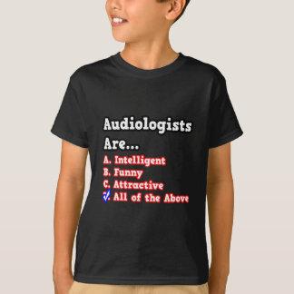 T-shirt Plaisanterie de jeu-concours d'audiologiste…