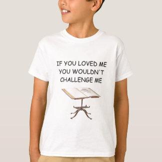 T-shirt plaisanterie de jeu de mots