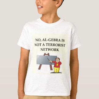 T-shirt plaisanterie de maths