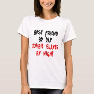 T-shirt Plaisanterie de zombi de meilleur ami