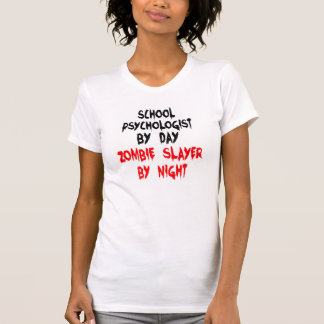 T-shirt Plaisanterie de zombi de psychologue d'école