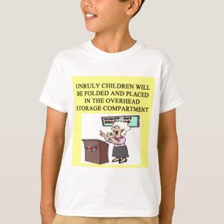 T-shirt plaisanterie d'hôtesse