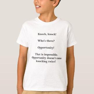 T-shirt Plaisanterie drôle de coup de coup qui incitera