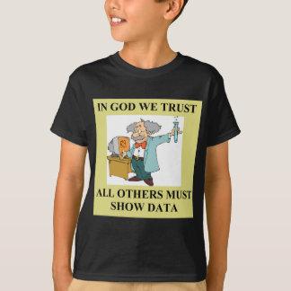 T-shirt plaisanterie drôle de la science
