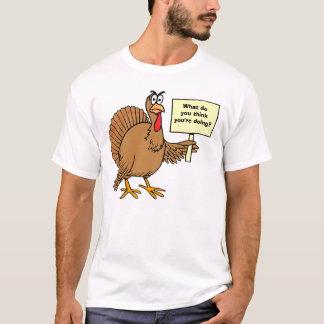 T-shirt Plaisanteries de dindes