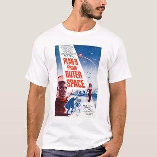 T-shirt Plan 9 d'espace extra-atmosphérique