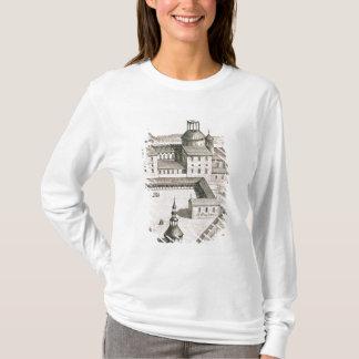 T-shirt Plan de l'abbaye bénédictine du Saint-Riquier