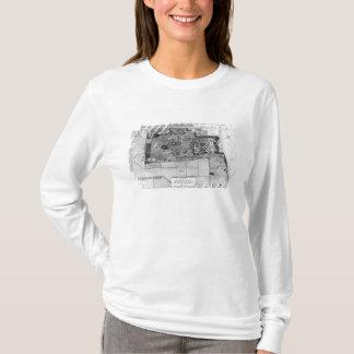 T-shirt Plan de Parc Monceau à Paris