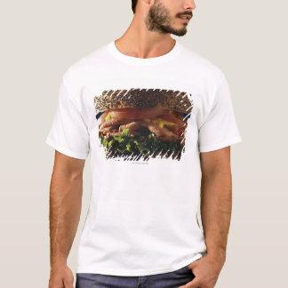 T-shirt Plan rapproché de sandwich