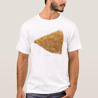 T-shirt plan rapproché de savoureux frit