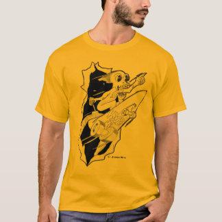 T-shirt Planche à roulettes propulsée par fusée