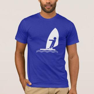 T-shirt Planche à voile bleue