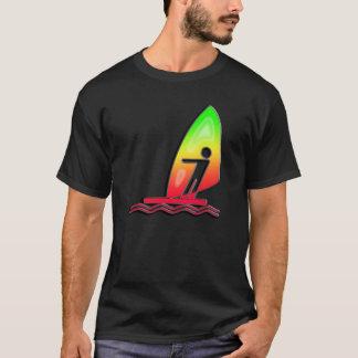 T-shirt Planche à voile lisse