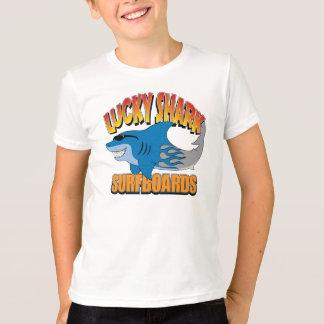 T-shirt Planches de surf chanceuses de requin
