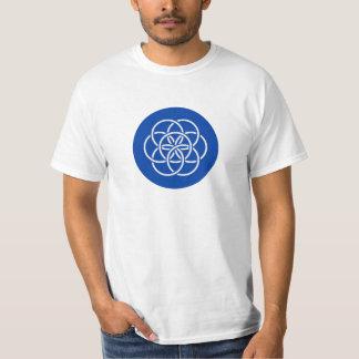 T-shirt Planet earth flag