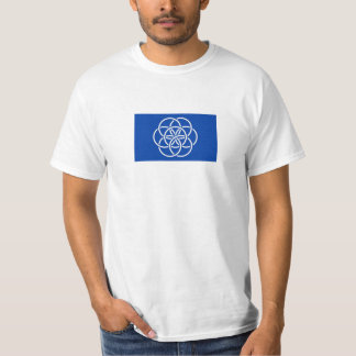 T-shirt Planet earth flag