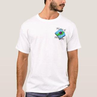 T-shirt Planète de la chemise de sein de raisins