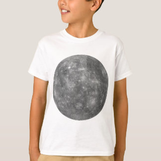 T-shirt PLANÈTE MERCURY v.1 (système solaire)