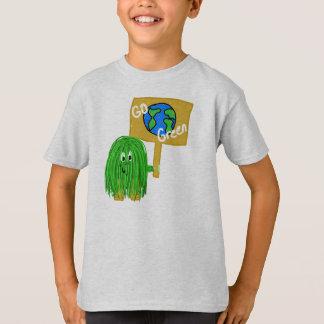 T-shirt Planète verte de devenez écolo