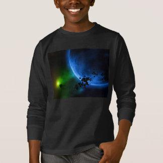 T-shirt Planètes bleues étrangères