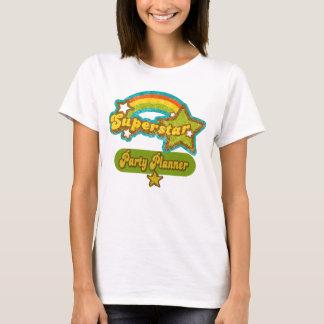 T-shirt Planificateur de partie de superstar