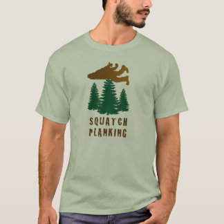 T-shirt Planking de Squatch