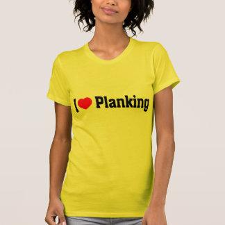 T-shirt Planking I (de coeur)