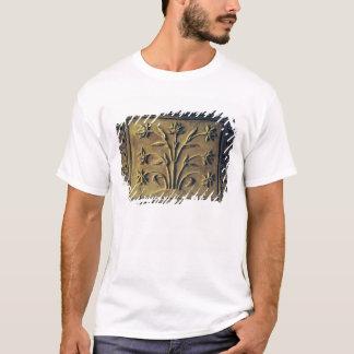 T-shirt Plante fleurissant, panneau de détail