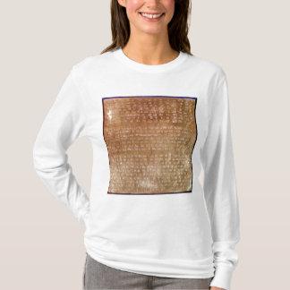 T-shirt Plaque de Darius I 550-500 AVANT JÉSUS CHRIST