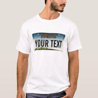 T-shirt Plaque minéralogique du Montana