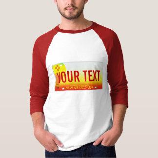T-shirt Plaque minéralogique du Nouveau Mexique