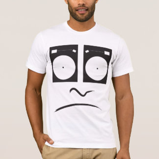 T-shirt Plaque tournante Face_1 triste