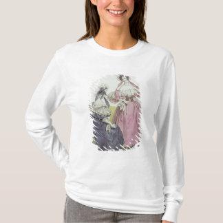 """T-shirt Plat de mode, """"salons de Le Follet Courrier"""