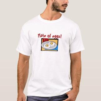 T-shirt Plat des oeufs III