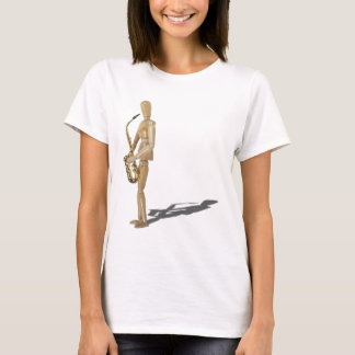 T-shirt PlayingTheSaxophone020511