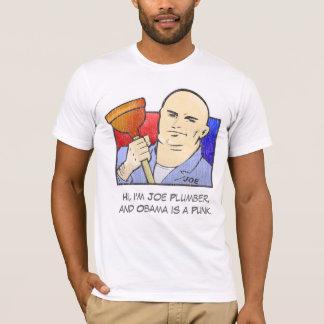 T-shirt Plombier de Joe - John McCain pour le président