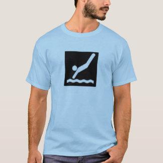 T-shirt plongée permise