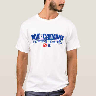T-shirt Plongent l'habillement de caïmans