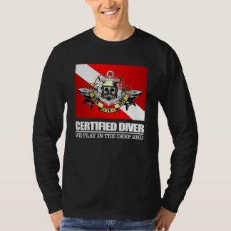 T-shirt Plongeur certifié (BDT) 2