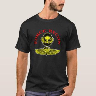 T-shirt Plongeur reconditionné Jumpblack de force