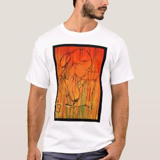 T-shirt Pluie créole jaune