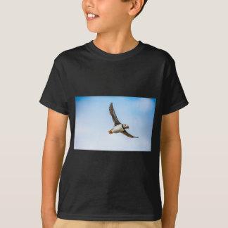 T-shirt Plume de mouche de faune de vol de mer d'oiseau de
