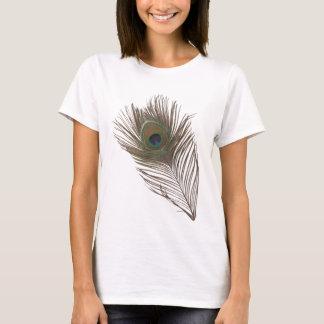 T-shirt Plume de paon
