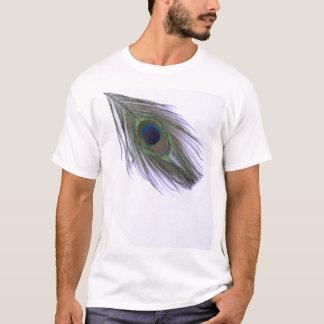 T-shirt Plume lilas de paon