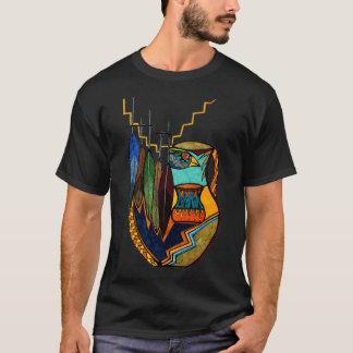 T-shirt Plumes et esprit de pot