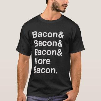 T-shirt Plus de tee - shirt helvetica de lard