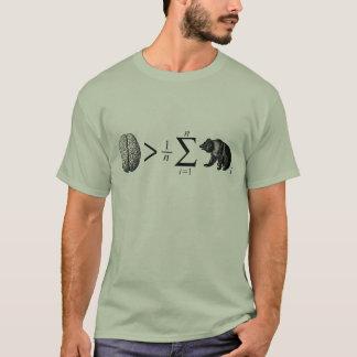 T-shirt Plus futé que l'ours moyen