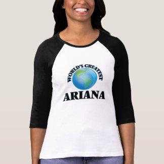 T-shirt Plus grand Ariana du monde